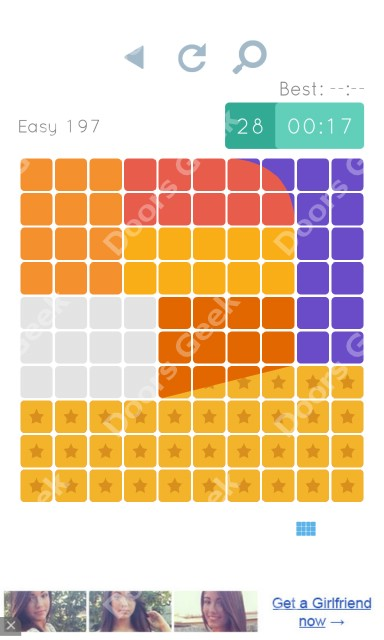 Cheats, Walkthrough for Blocks and Shapes Level 197