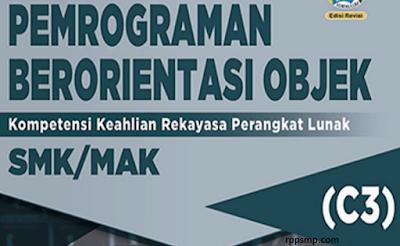 Rpp Pemrograman Berorientasi Objek Kurikulum 2013 Revisi 2017/2018 dan Rpp 1 Lembar 2019/2020/2021 Kelas XI Semester 1 dan 2