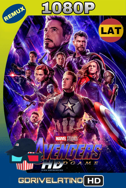 Avengers: Endgame (2019) BD25-REMUX 1080p (Latino-Inglés) MKV