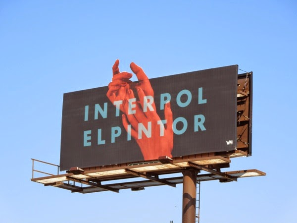 Interpol El Pintor music album billboard