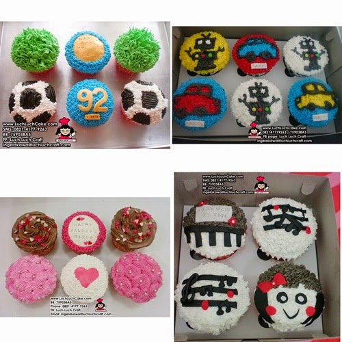 jual cupcake daerah surabaya - sidoarjo