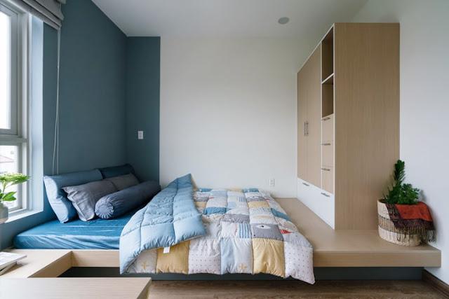 Thiết kế nội thất căn hộ chung cư tại Quận 9 cực xinh