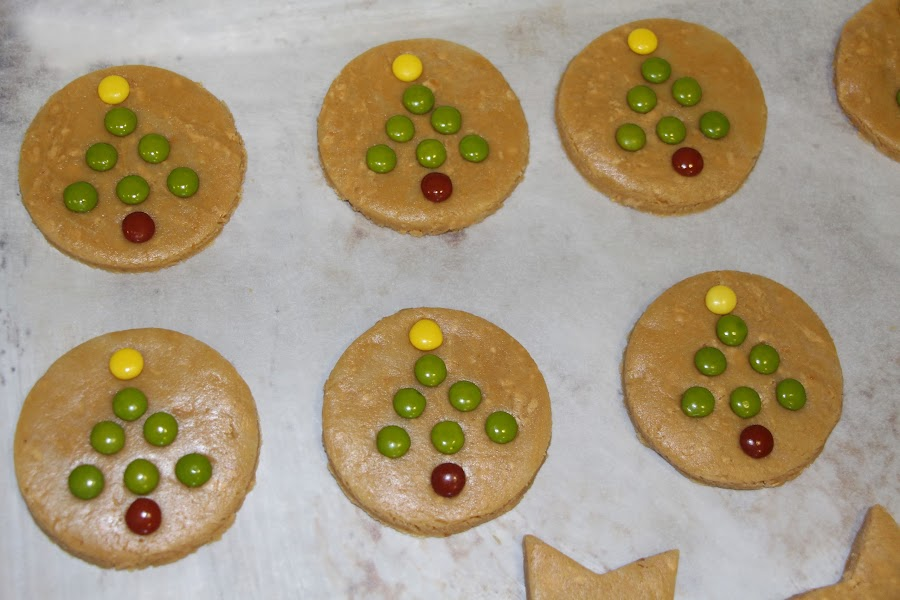 galletas de turron con lacasitos