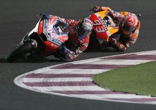 Marquez vs Andrea Dovizioso