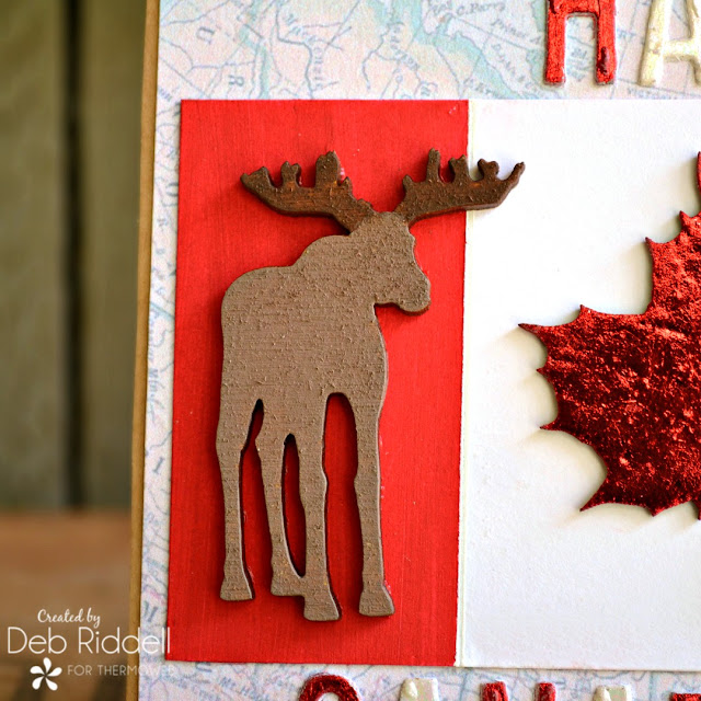 Happy Canada Day Card Detail