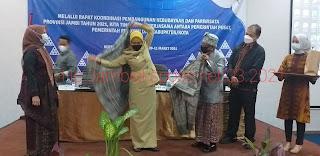 Pj.Gubernur Jambi Secara Resmi Membuka  Rakor Pembangunan Kebudayaan dan Kepariwisataan Provinsi Jambi.