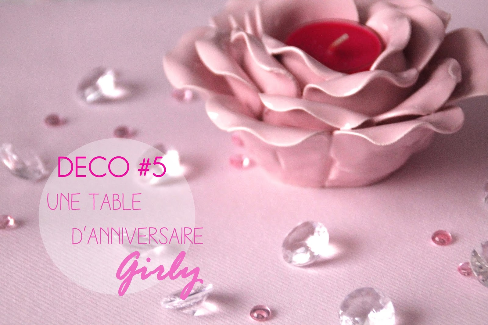 Decoration Anniversaire Girly Deer Bambi Déco 5 Une Mini Table D Anniversaire Girly