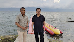 Kunjungi Batu Hoda, Anggota DPR Sofyan Tan Siap Pasarkan Danau Toba