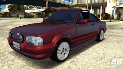 Download mod carro Ford Escort XR3 1992 Cabriolet para GTA San Andreas