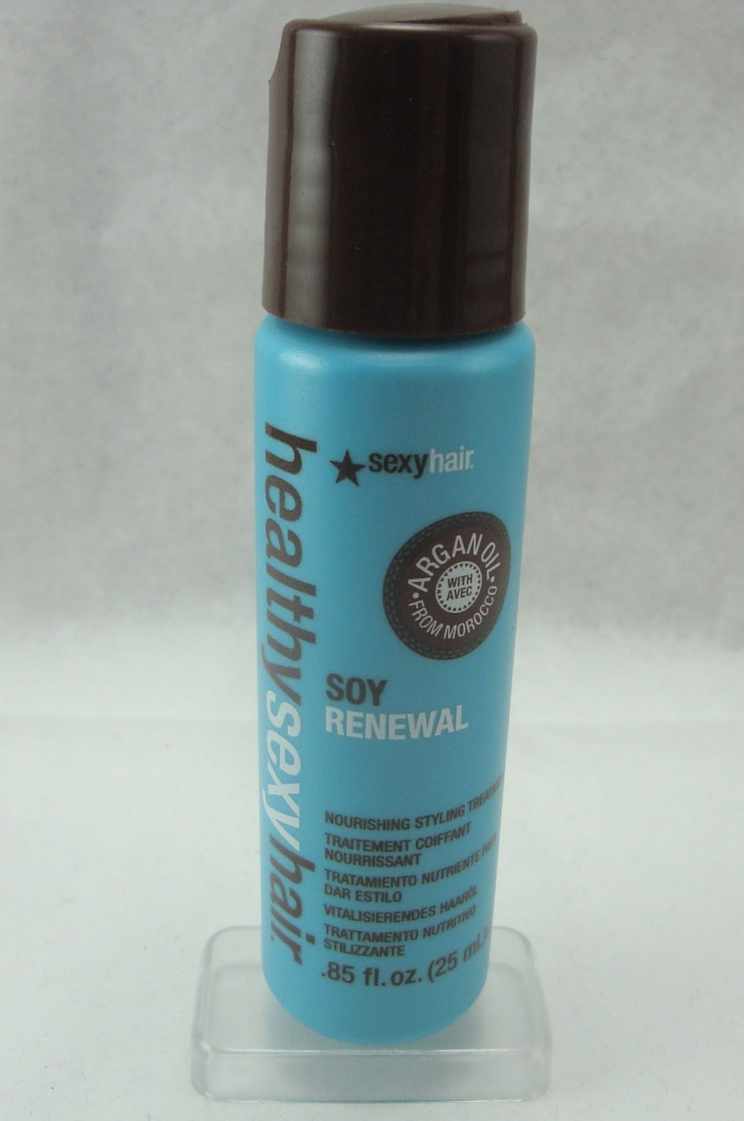Healthy sexy hair soy renewal argan oil