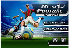 تحميل لعبة ريال فوتبول 2014 لاجهزرة الاندرويد Download Real Football 2014