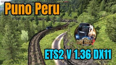 Map Puno Peru DX11 ETS2 1.36.x