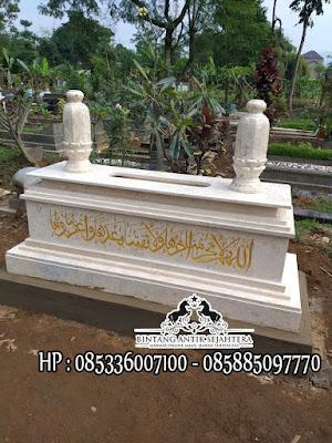 Jual Kijing Kuburan Marmer, Makam Marmer Muslim, Makam Batu Marmer