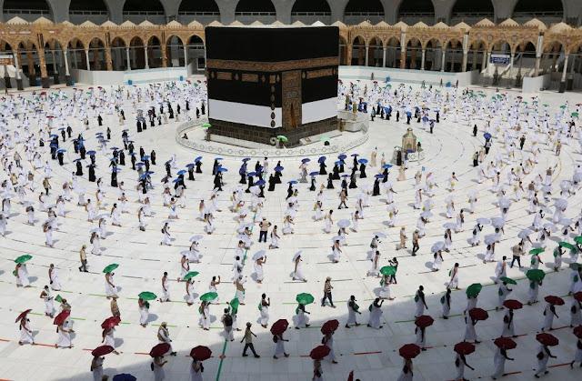 Allahu Akbar, Seperti Inilah Suasana Ibadah Haji di Tengah Pandemi