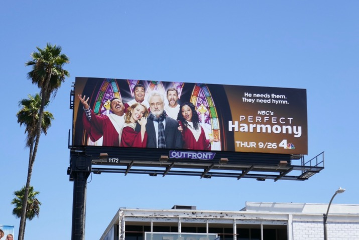 Perfect Harmony season 1 billboard