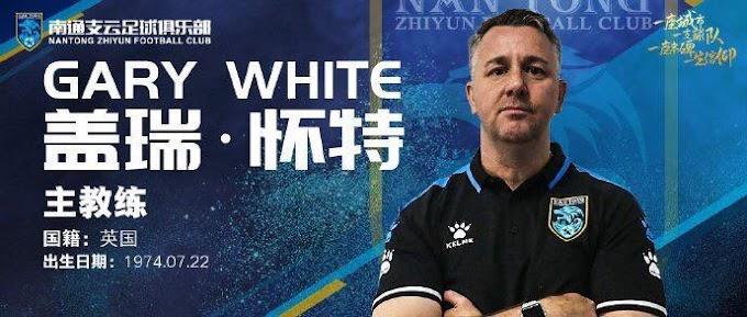 Gary White: new Nantong Zhiyun F.C Manager