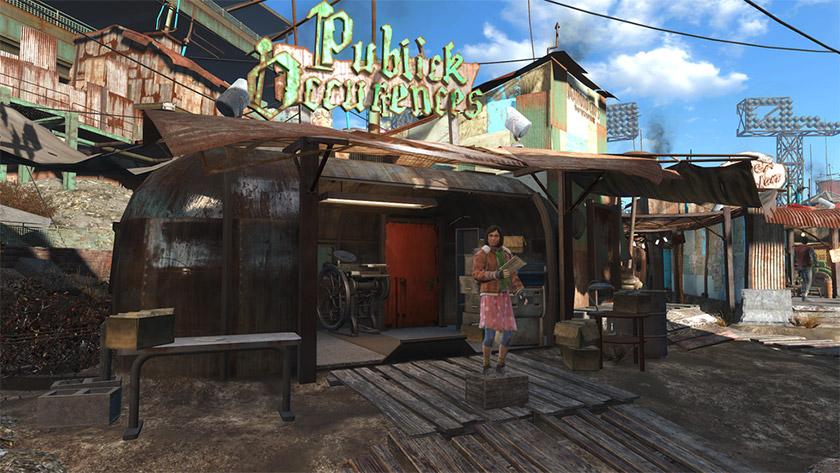 Будівля «Громадських подій» у Fallout 4