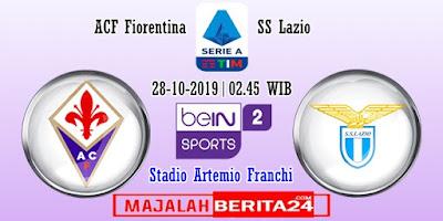 Prediksi Fiorentina vs Lazio — 28 Oktober 2019