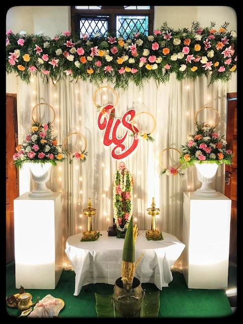 wedding decor kerala