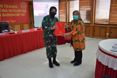 Babinkum TNI Gelar Acara Bimbingan Teknis Pembangunan Zona Integritas di Lingkungan Babinkum TNI