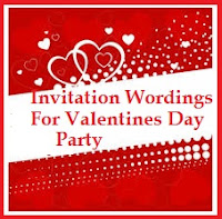 Sample invitation wordings valentines day other related posts you may like stopboris Gallery
