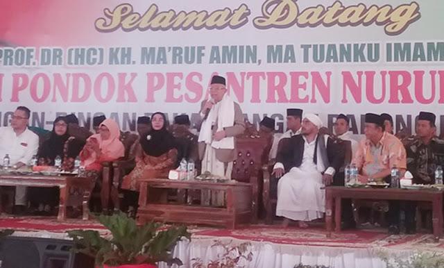 KH Ma'ruf Amin: Ulama Indonesia Mampu Letakkan Hubungan Agama dengan Bangsa