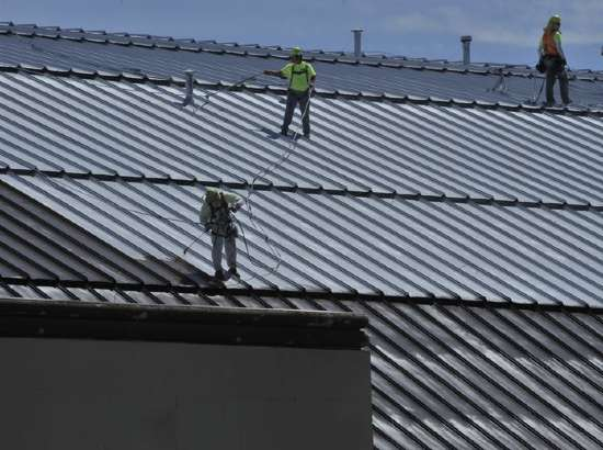 Safety Toolbox Talk - working on pitched or sloping roof