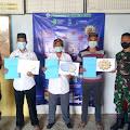 Babinsa Desa Pulau Lemukutan Laksanakan Pengawalan Vaksin Sinovac Covid 19 Tahap I