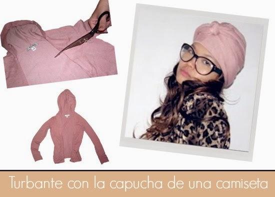 turbante, hooded scarf, customizar, transfomar, refashion, moda,turban