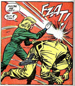 Captain America Tales of Suspense 94 Sharon Carter