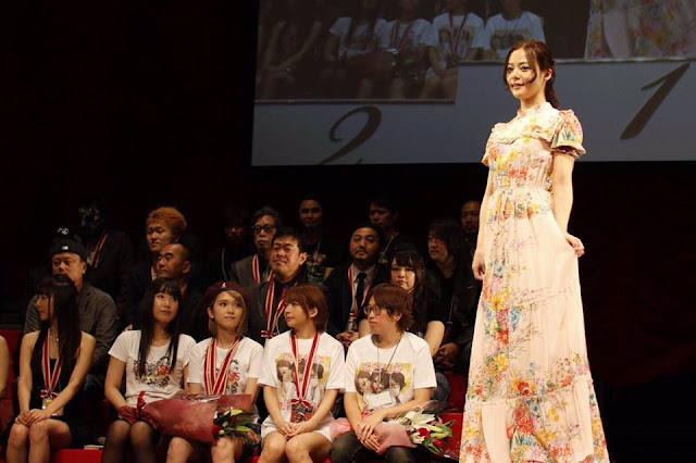 Nene Yoshitaka 吉高寧々 AV Open 2017 Pics
