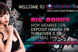 NIRWANAPOKER Situs Judi Poker Online Terbaik