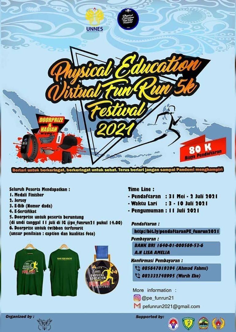 Physical Education Fun Run Festival • 2021