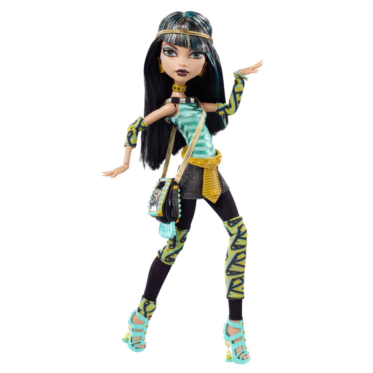monster high pretty cleo de nile 2011. Black Bedroom Furniture Sets. Home Design Ideas