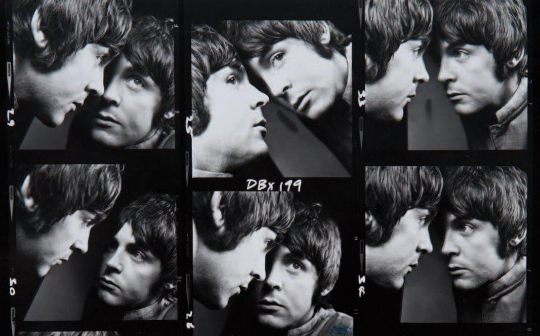 John Lennon And Paul Mccartney Photographed By David Bailey 1965 Vintage Everyday