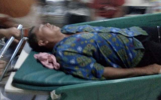 Kepling Atan Syafii yang menjadi korban pembacokan saat penggerebekan terduga teroris di Tanjungbalai.