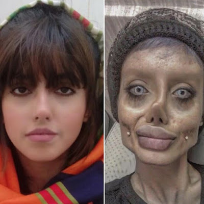 Do You Remember Zombie Angelina Jolie Look Alike? This Is How She Looks In Real