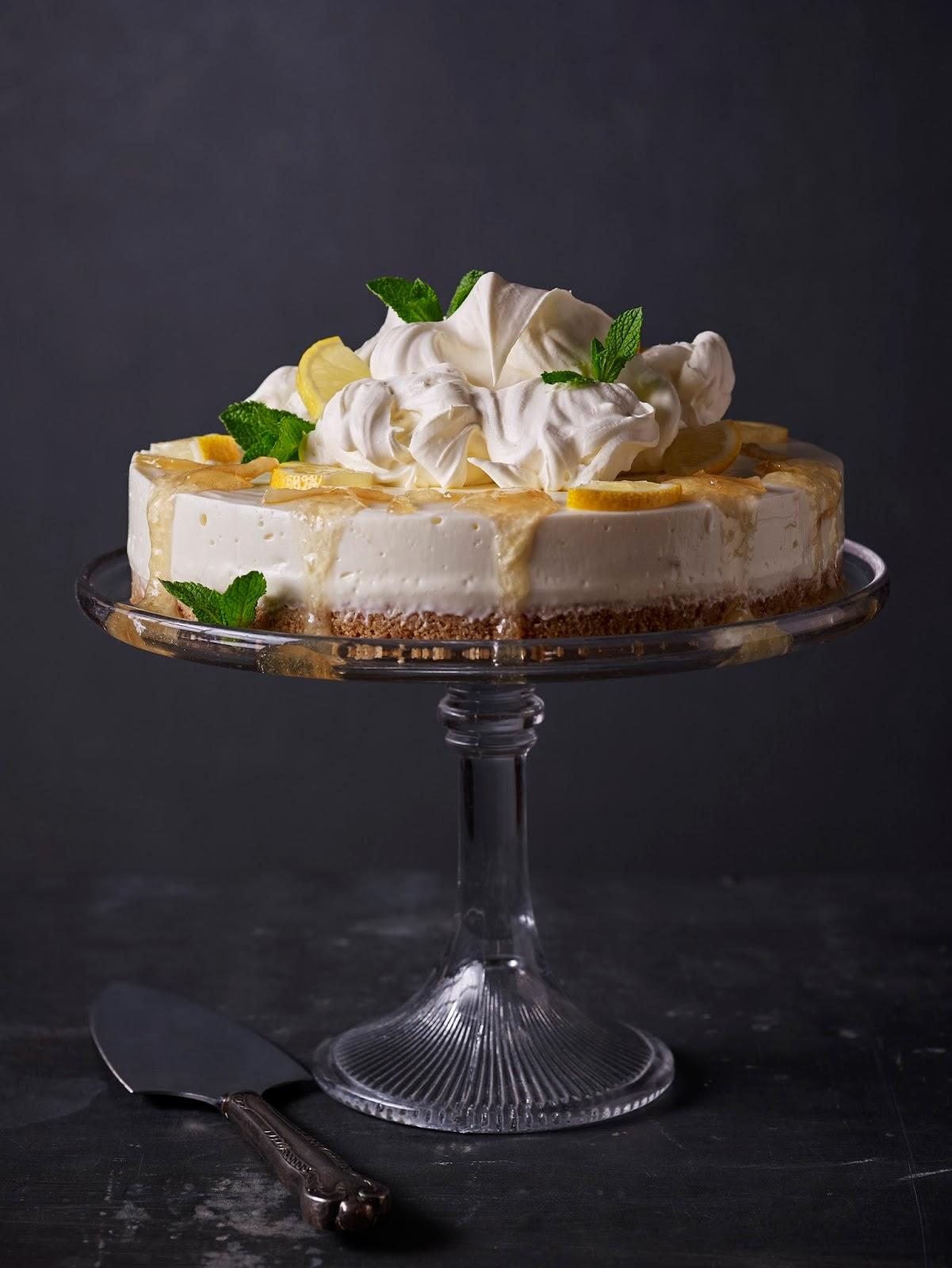 Lemon Elderflower Cheesecake