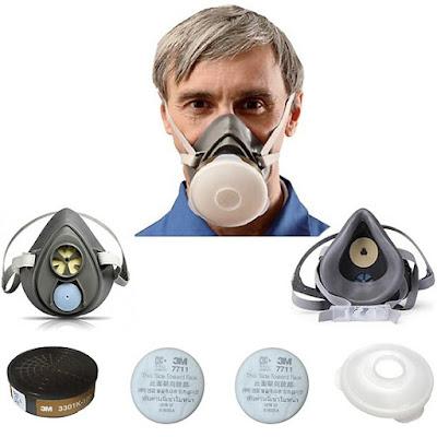 Mặt nạ bảo hộ 3M 3200 Mỹ chống bụi & vi khuẩn