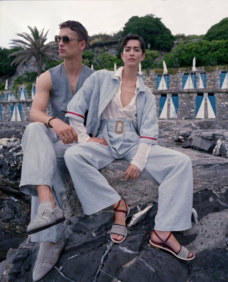 Giorgio Armani summer 2021 collection.