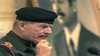 وفاة عزة ابراهيم الدوري نائب الرئيس العراقي الأسبق صدام حسين