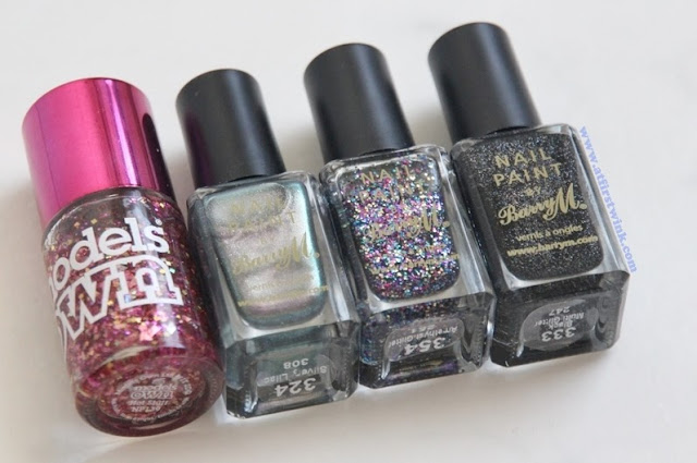 Barry M. and Models own nail polishes