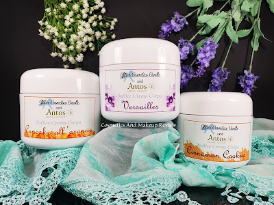 Soffice crema corpo - Glitter Cosmetics Candle - Antos Cosmesi Naturale