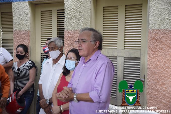 Prefeito Antônio Martins e os secretários de Infraestrutura e Transportes realizam reunião geral com servidores municipais