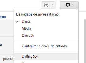 Outlook.com no Gmail