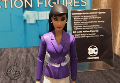 San Diego Comic-Con 2016 DC Collectibles Superman: The Animated Series Superman and Lois Lane Action Figures