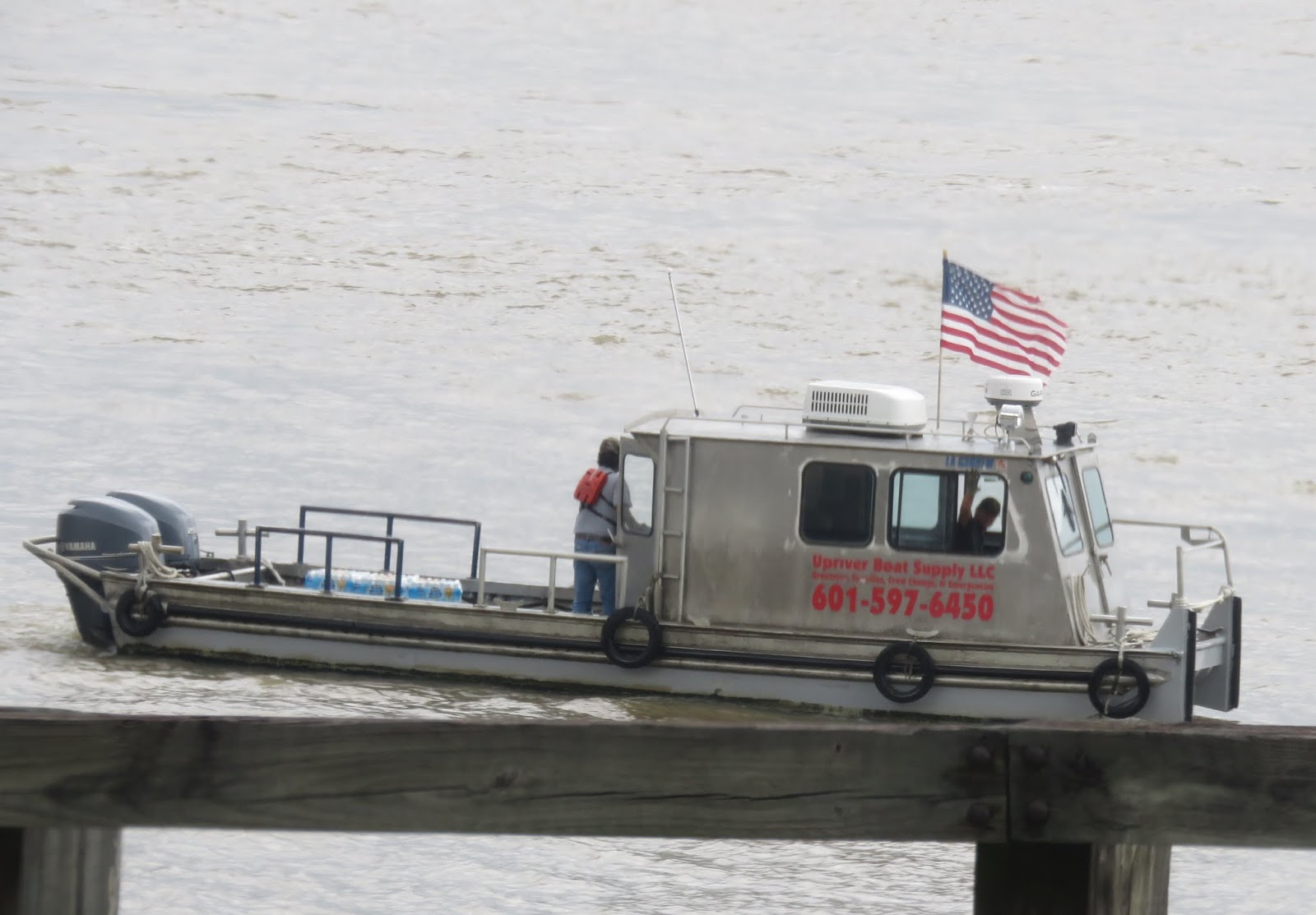 Big Daddy Dave: A Snack and the Busy Mississippi River
