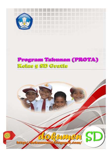 Download Program Tahunan (PROTA) Kelas 5 SD Gratis