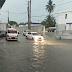 Lluvias de esta tarde inundan toda la parte baja de Nagua.