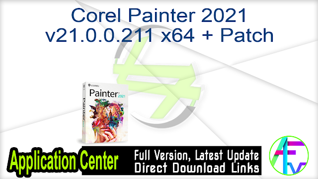 Corel Painter 2021 v21.0.0.211 x64 + Patch